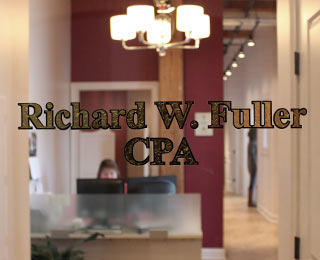 The office of Richard W. Fuller, CPA